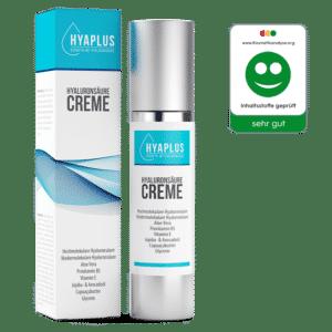 hyaplus hyaluronsäure creme